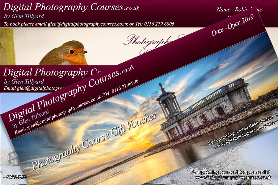 Digital Photography Course Gift Vouchers