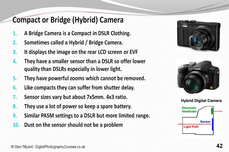 Difference Between Bridge and Compact Camera