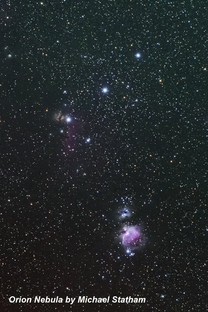 Orion Nebula by Michael Statham