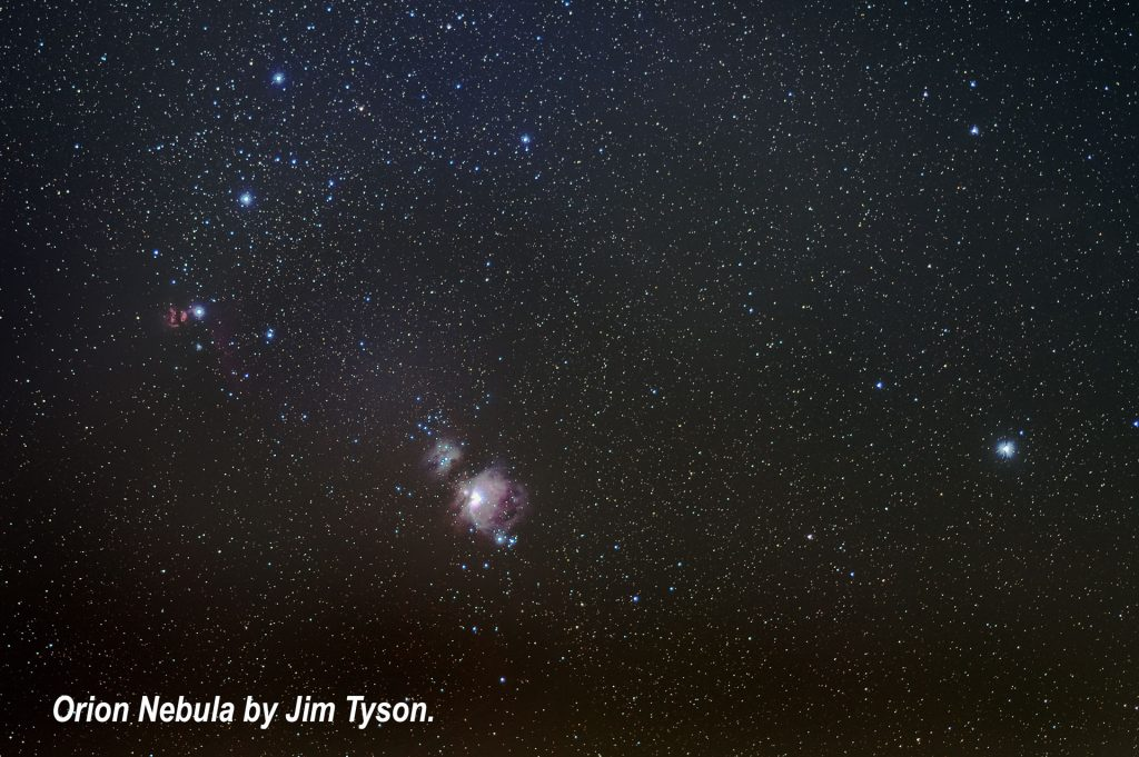 Orion Nebula by Jim Tyson
